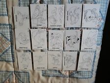 LA SIRENITA THE LITTLE MERMAID TRADING CARDS AMERICANAS COLOREABLES
