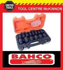 "BAHCO D/S14 14pce METRIC ½"" DRIVE IMPACT SOCKET SET"