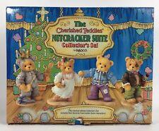 The Cherished Teddies Nutcracker Suite Collectors Set 4 Figurines (915)