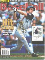 Beckett Baseball Card Monthly Magazine October 2000 #187 Darin Erstad Anaheim