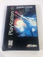 Jupiter Strike (PlayStation 1 PS1) Complete Long Box