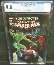 Amazing Spider-Man #24 (2017) Alex Ross Cover CGC 9.8 White Pages GG216