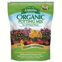 Espoma AP16 16-Quart Organic Potting Mix- Pack of 2 bags