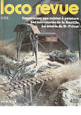 LOCO REVUE N°459 CONSTRUISEZ CABINE A PEINTURE / SCIERIE DE SAINT-PRIVAT