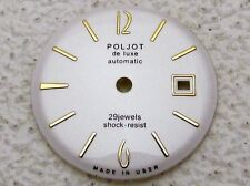 Vintage Russian Dial Watch-face for Watch POLJOT De Luxe Automatic 29 Jewels
