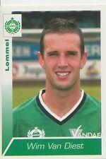 N°220 WIM VAN DIEST # BELGIQUE KFC LOMMELSE.FC STICKER PANINI FOOTBALL 2003