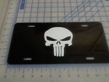 Punisher car tag/ license plate