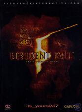 Resident Evil 5 - offizielles Lösungsbuch, deutsch NEU