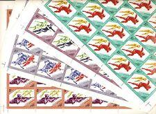 USSR 1984..n° 5071-74..YT 75€...MNH ** OLYMPICS GAMES SARAEVO-84 .. (4 SHEETS)