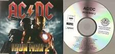 "AC/DC ""Iron Man 2"" 15Track UK Acetate Promo CD Rare"