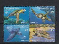 CK27) Cocos Keeling Island 2002 Sea Turtles MUH