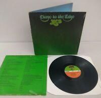 Yes - Close To The Edge - 1972 UK VINYL LP Atlantic   Gatefold & Inner