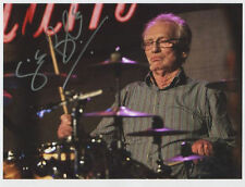 Ginger Baker Signed 8 x 10 Photo Genuine In Person