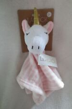 Lily and Jack Baby Girl Unicorn security Blankie Rattle New