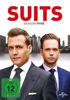 SUITS - SEASON 5  4 DVD NEW GABRIEL MACHT/PATRICK J.ADAMS/+