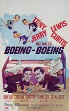 BOEING BOEING Belgian movie poster TONY CURTIS JERRY LEWIS 1965 RARE