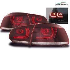 Fanali posteriori a LED per VW Volkswagen Golf 6 VI dal 2008 coppia di fari luci