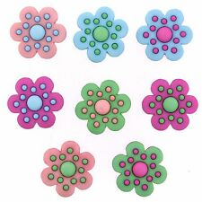 JESSE JAMES BUTTONS ~ DRESS IT UP - HAPPINESS BLOOMS FROM WITHIN 9370 Sew Craft