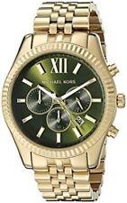 Michael Kors Lexington MK8446 Chronograph Gold Tone Wrist Watch for Men