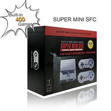 Super NES SNES Mini Entertainment Console 400 Retro Classic Games AV Video New