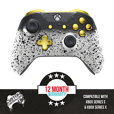 Custom Xbox One S Controller - 3D White Shadow Edition - Custom Controllers UK