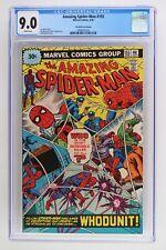 Amazing Spider-Man #155 - Marvel 1976 CGC 9.0 - 30 Cent Variant!