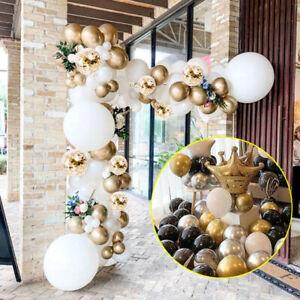 DIY Ballons Guirlande Kit Gold Confetti Latex Balloons Party Decoration
