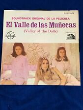Valley of the Dolls - 45 Rpm Record from Mexico - El Valle De Las Munecas
