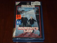 Murphy's Law VHS 1980's Thriller RCA Columbia Home Video PAL