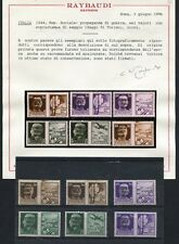 1944 RSI- SAGGI DI TORINO SUI PROPAGANDA DI GUERRA. RARI  (258230)