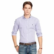 BNWT Polo Ralph Lauren Men's Slim-Fit Striped Shirt – Size Small  89.50$