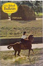 national geographic-SCHOOL BULLETIN-nov 6,1967-PORTUGAL.
