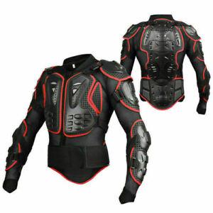 ProtektorenJacke Motorrad Cross HERO Protektorenhemd Enduro Brustpanzer Neu QQ