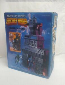 Vintage Secret Wars TOWER OF DOOM Marvel SEALED Box *water Damaged* 1984 Mattel