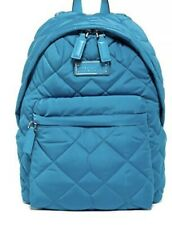NEW Marc Jacobs Turquoise QUILTED NYLON Backpack Bag Handbag