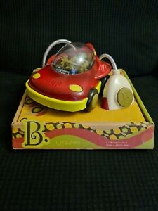 B toys by Battat – Space Car UFWhoa! – One Button Remote Control Light-Up Toy 1