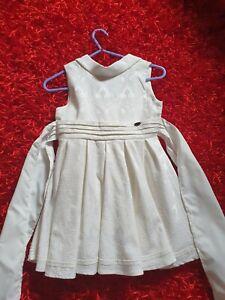BNWT Ivory Girls Christening Flower Girl Occasion Party  Dress Pettigirl Sz 6