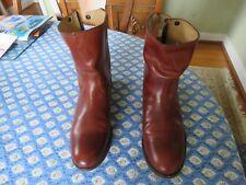 Frye Boots - Womans Melissa Button Zip Short (Size 9.5)