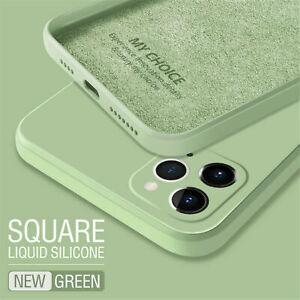 Liquid Silicone Case Soft Slim Cover For iPhone 13 12 11 Pro Max XS XR SE 87Plus