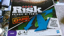 HASBRO RISK BALANCE OF POWER 2 PLAYER GAME . THE GAME IS COMPLETE