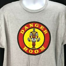 X-Men Colossus Danger Room Golds Gym Spoof Ript T-Shirt XL Mens Strong Man