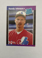 1989 Donruss #42 Randy Johnson RC Rookie Montreal Expos **NM or Better**