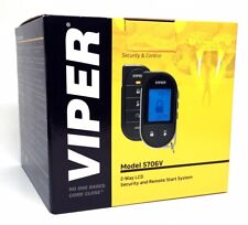 Viper 5706V Remote Start + Alarm Plus with 2-Way Lcd Pager Remote Brand New