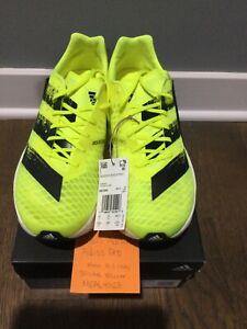 Adidas Adizero Adios Pro Running Shoe Size US 10.5 H67504 Solar Yellow