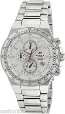 Casio EF546D-7A Edifice Men's Stainless Steel, Chronograph Watch, 100M