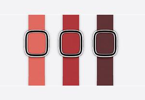 Genuine Apple Watch Strap,Natural Leather Modern Buckle Strap - 40mm / Medium