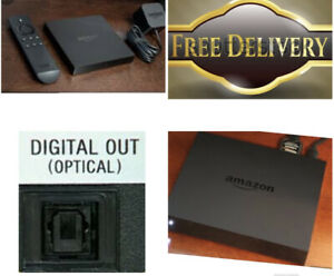 Amazon Fire TV Box First Generation With Optical Digital Output For Sound System