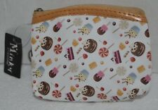 Cute Candy Cake Desserts Food Snacks Coin Pouch Purse Wallet Keychain NEW