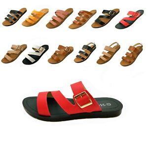 Women's Sandals Comfy Flex Bottom Flip Flop Flats Sandals Shoes