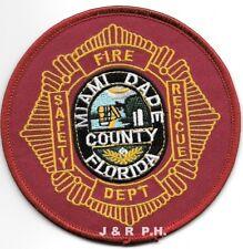 FL Station 30 Miami Shores Fire Patch Miami Dade